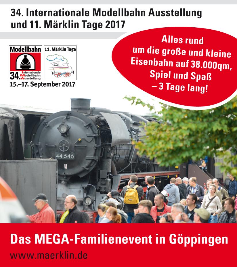 Göppingen - IMA und Märklintage 2017 - mit LGB Rhein Sieg