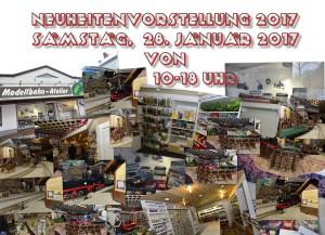 Neuheitenvorstellung bei Modellbahn-Atelier-Renken in Essen Steele am 28.01.2017